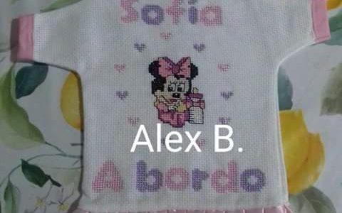 Alex B e il body nascita