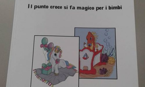 """LIBRO """"Il punto croce si fa magico per i bimbi"""""""