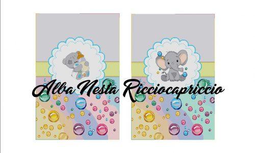 2 schemi per grandi copertine da neonato art.2
